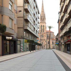 Visualización 3d reforma calle