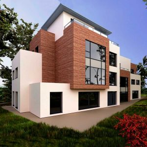 visualizacion Edificio en 3D