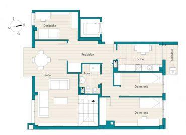 planos venta vivienda