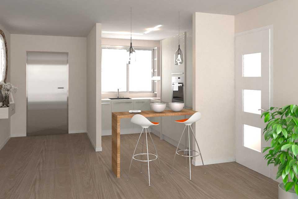 diseño-cocina moderna en 3d